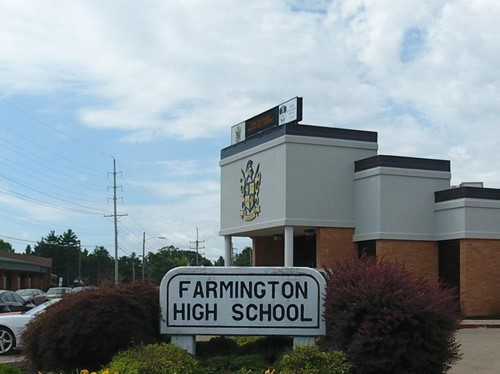 Farmington High School building
