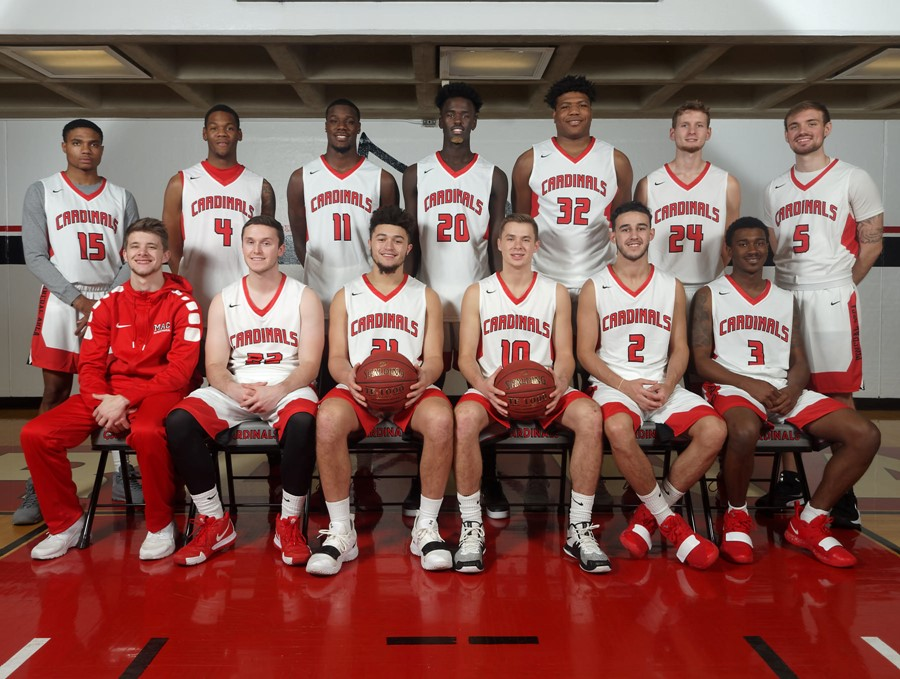 2018-19 Mineral Area College Men's Basketball Team